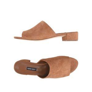 NINE WEST | camel raissa sandal 8.5